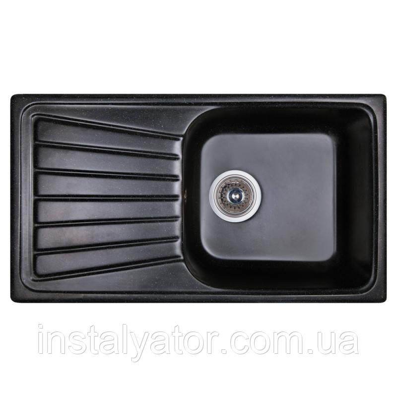 Fosto Мойка 81x46 SGA-420 (черный)
