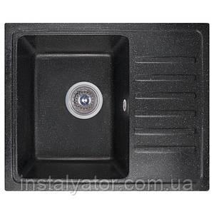 Fosto Мойка 55x46 SGA-420 (черный)