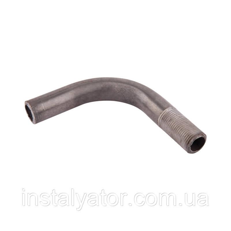 Отвод стальной с длинной резьбой  15   SU20715L