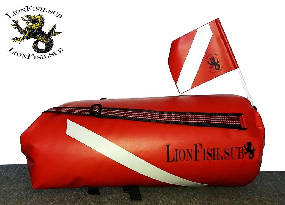 LionFish.sub Спец.Заказы Рюкзаков, Герметичных Баулов-Буёв из ПВХ. Сумки для Вещей и Снаряжения