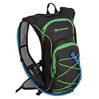 Рюкзак спортивный Highlander Kestrel 9 Hydration Pack 15 Black/Green (Уценка)