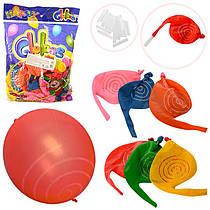 Набір надувних кульок зі спецефектами (100 шт.), мікс, MK 1363