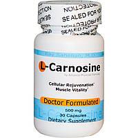 L-карнозин (L-Carnosine) Advance Physician Formulas 500 мг 30 капсул