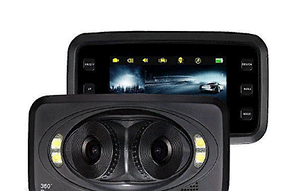 Автомобильный видеорегистратор Panoramic View 360 DVR H-6000, фото 2