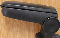 Peugeot 308 2014↗ Откидной подлокотник (черный)