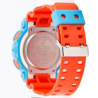Наручные часы Casio G-Shock AAA GA-110 Blue-Orange, фото 2