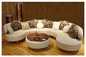 Диван дизайнерский под заказ Радиусный-5 (Мебель-Плюс TM)