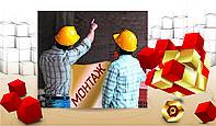 Монтаж, демонтаж баннеров, вывесок  и конструкций