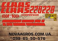 Комплект наклеек на комбайн Claas 228