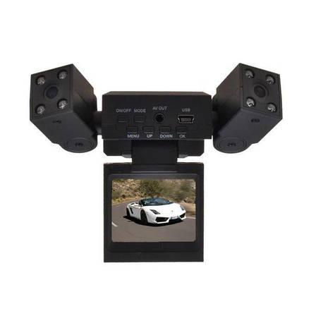 Видеорегистратор автомобильный DVR H3000 2 камеры, фото 2