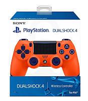 Геймпад беспроводной Dualshock 4 V2 Оранжевый Sunset Orange