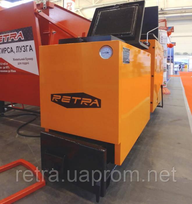 Котел твердотопливный Ретра-6М 26 кВт шахтный длительного горения
