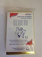 Спасательное покрывало Firstar FS-128 (цвет золото/серебро, размер 160Х210 см)