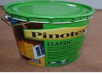 Эффективная декоративная пропитка для защиты древесины Classic Pinotex 10 л.