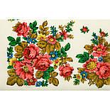 Солнечная тропинка 1847-0, павлопосадский платок шерстяной (разреженная шерсть) с швом зиг-заг, фото 2