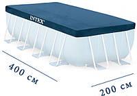 Тент Intex 28037 для прямоугольных каркасных бассейнов 400х200 см