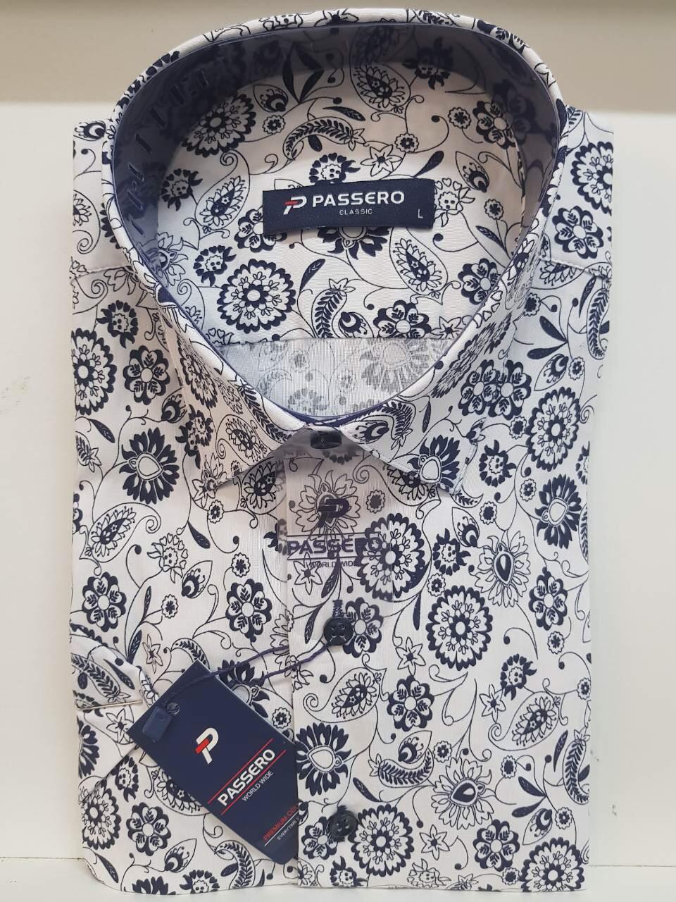 Рубашка с коротким рукавом Passero с принтом
