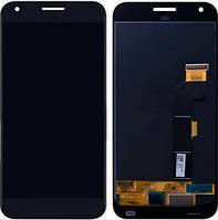 """Дисплей для HTC M1 Google Pixel XL 5.5"""" с тачскрином серый, Оригинал"""