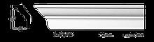 Карниз потолочный гладкий Classic Home 2-0570, лепной декор из полиуретана