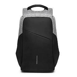 Рюкзак KAKA-808 Backpack Black (Черный)