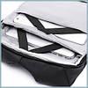 Рюкзак антивор для ноутбука 15,6 KAKA 2248 чёрно-серый, фото 6
