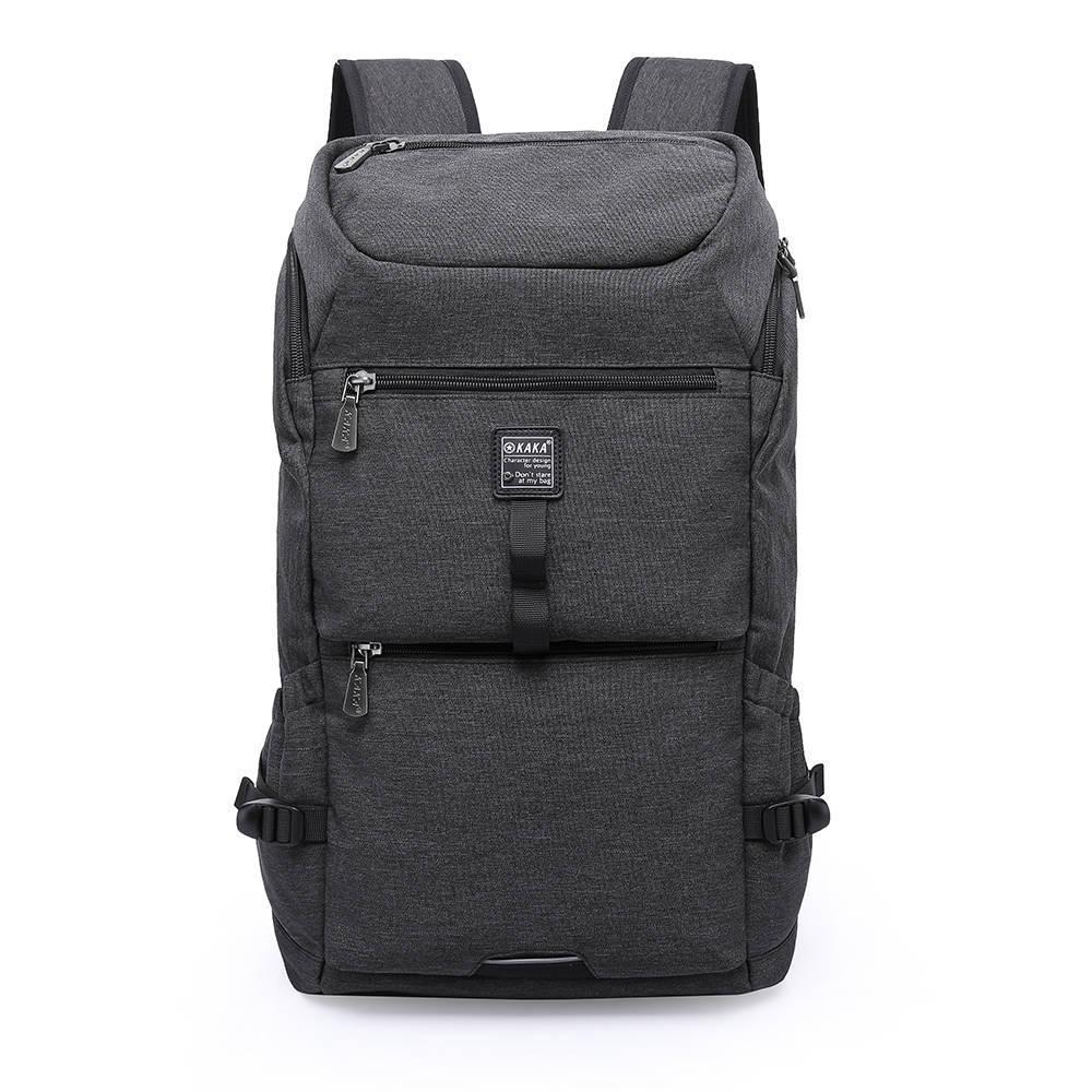 Рюкзак KAKA-2232 Backpack Black (Черный)