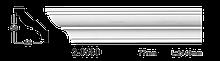 Карниз потолочный гладкий Classic Home 2-0580, лепной декор из полиуретана