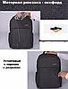 Рюкзак городской TIGERNU T-B3221 СЕРЫЙ, фото 10