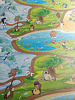 """Развивающий детский коврик """"Мадагаскар""""СОЮЗМУЛЬТФІЛЬМ 2000/1200/8мм"""