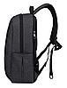 Рюкзак городской TIGERNU T-B3221 ТЕМНО-СЕРЫЙ, фото 2