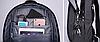 Рюкзак городской TIGERNU T-B3221 ТЕМНО-СЕРЫЙ, фото 4