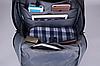 Рюкзак городской TIGERNU T-B3221 ТЕМНО-СЕРЫЙ, фото 5