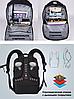 Рюкзак городской TIGERNU T-B3220 ЧЕРНЫЙ, фото 10