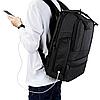 Рюкзак городской TIGERNU T-B3243 Black grey, фото 5