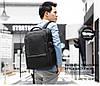 Дорожний рюкзак для ноутбука до 15,6 дюймов Arctic Hunter B00120С, влагозащищённый,с USB портом, 25л, фото 10