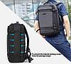 Дорожный рюкзак для путешествий Arctic Hunter B00188, влагозащищённый, 24л, фото 8