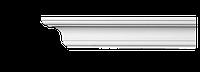 Карниз(плинтус) потолочный гладкий Classic Home 2-0601, лепной декор из полиуретана