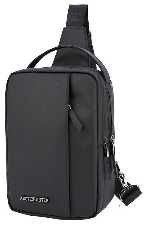 Удобная сумка-мессенджер через плечо для бизнеса и путешествий Arctic Hunter XB130027, влагозащищённая, 3л