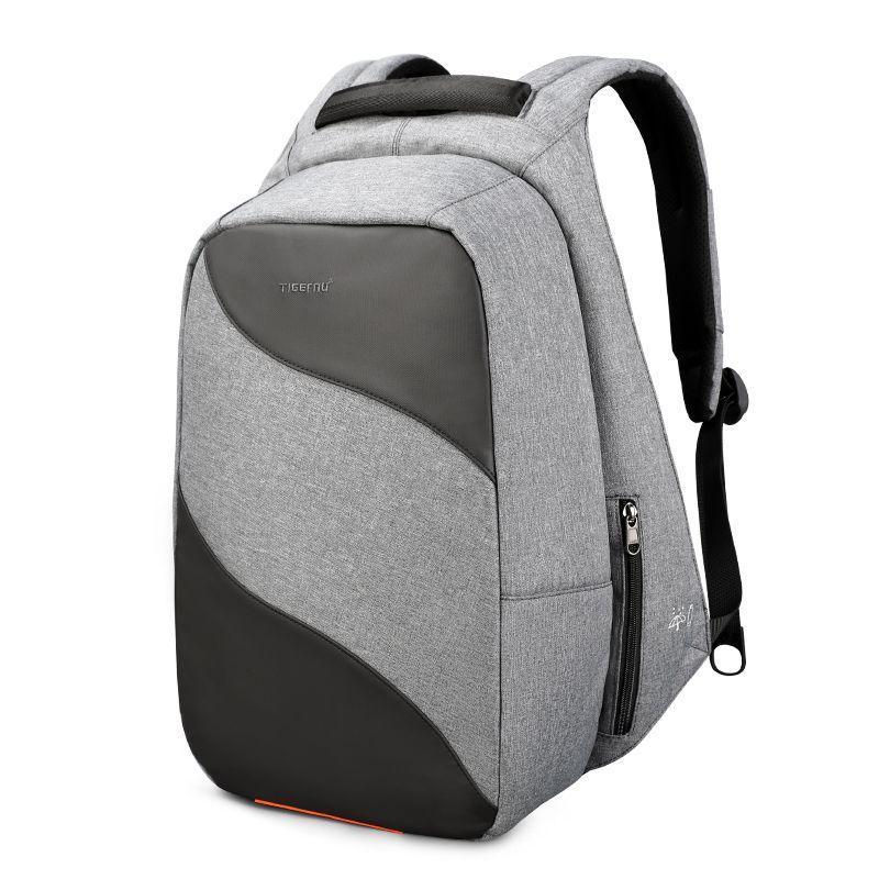 Рюкзак Tigernu T-B3622, серый, черный