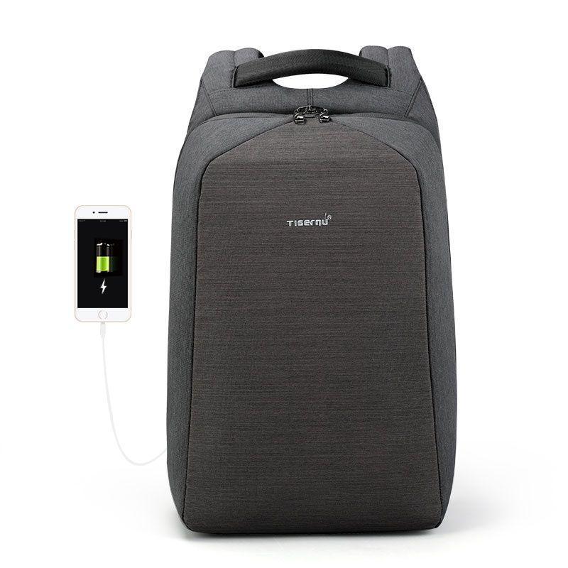 Рюкзак Tigernu T-B3361, темно-серый