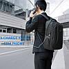 Стильный серый рюкзак Tigernu T-B3399, фото 7