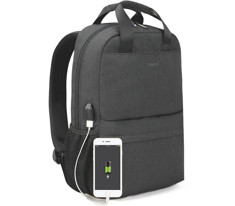 Городской рюкзак Tigernu T-B3508, 15.6 дюймов, серый