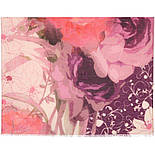 10796-3, павлопосадский шарф-палантин вовняної (розріджена шерсть) з осыпкой, фото 3