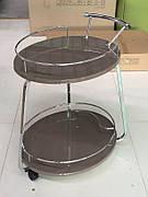 Сервірувальний столик V323 Exm, колір кави