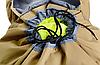 Тактический туристический городской рюкзак с системой M.O.L.L.E раздвижной на 70л- 85л TacticBag Кайот, фото 9