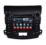Магнитола CITROEN C-CROSSER, PEUGEOT 4007, Mitsubishi Outlander/XL. Kaier KR-7062. Android 4Q