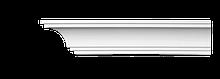 Карниз потолочный гладкий Classic Home 2-0641, лепной декор из полиуретана