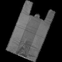 Пакет майка 50*90 50шт серый 40 мкм