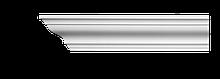 Карниз потолочный гладкий Classic Home 2-0680, лепной декор из полиуретана