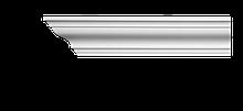 Карниз потолочный гладкий Classic Home 2-0680 flex, лепной декор из полиуретана